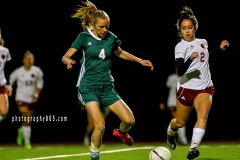 2017 Paso Robles High School Varsity Girls Bearcat Soccer vs Templeton Eagles